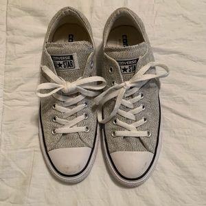 Grey Low Top Converse
